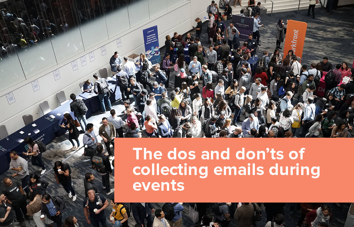 The dos and don'ts of collecting emails during events