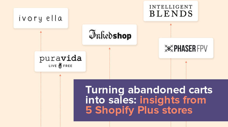 How to turn abandoned carts into sales: insights and results from 5 Shopify...