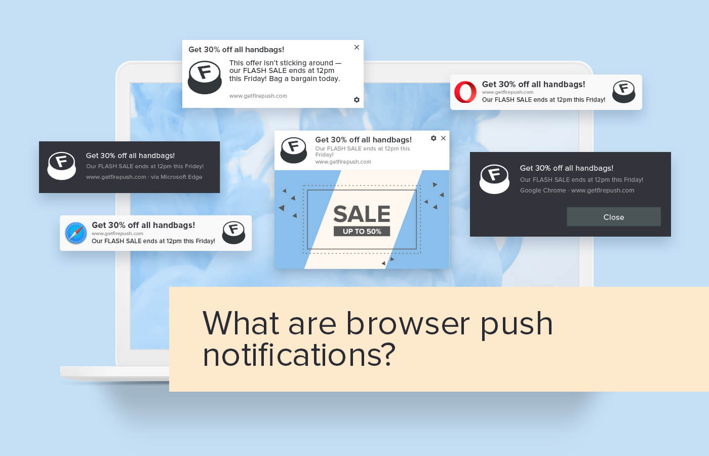 What are browser push notifications?