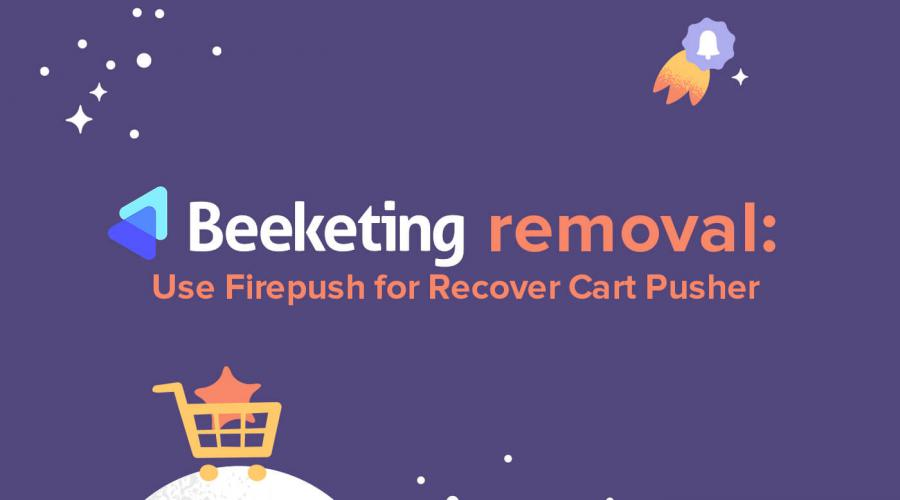 Recover Cart Pusher by Beeketing - alternative apps for Shopify