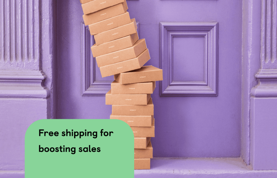 Want to boost sales? Why not try Free Shipping