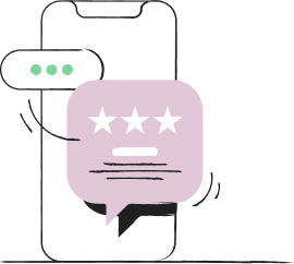 Review request SMS