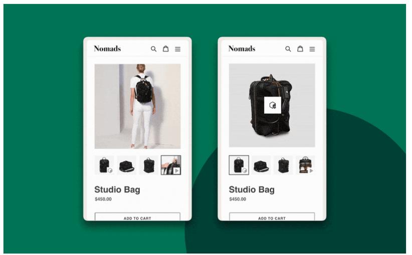 Shopify 3d model update