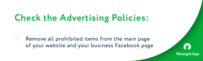 advertising policies