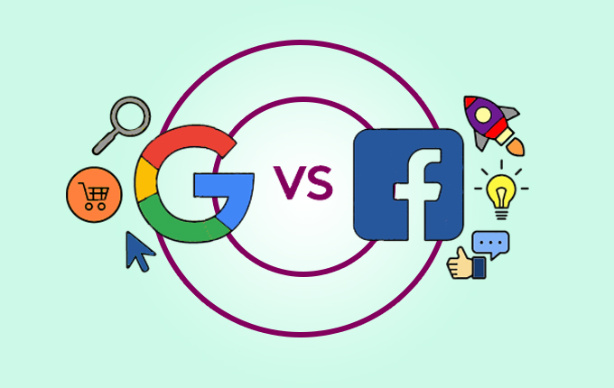 Google and Facebook traffic