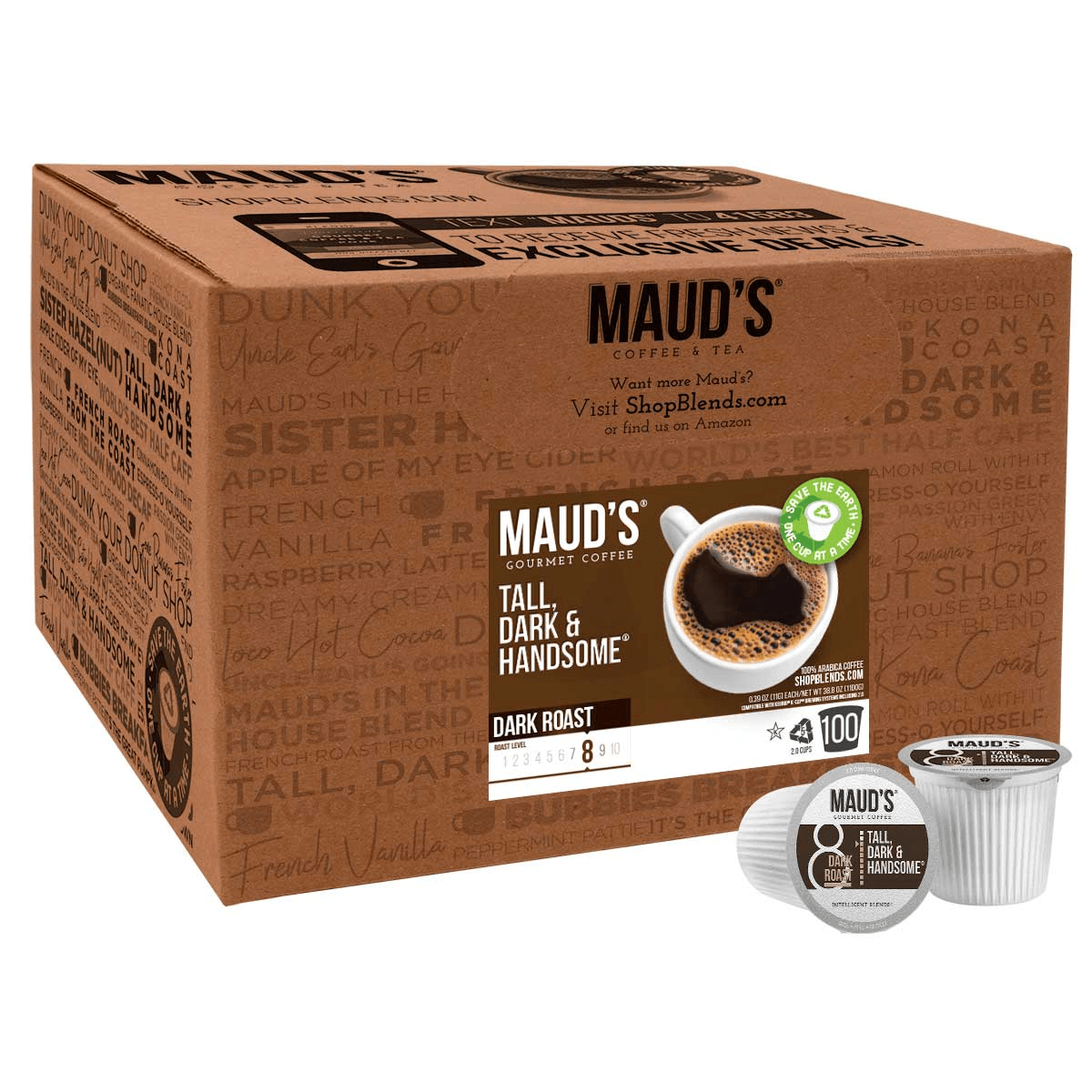 Intelligent Blends Maud's Tall, Dark and Handsome blend