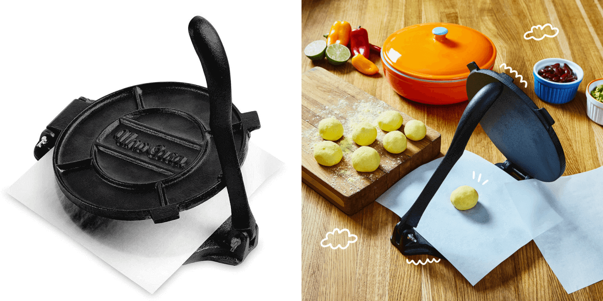 Optimize images of tortilla press by UnoCasa