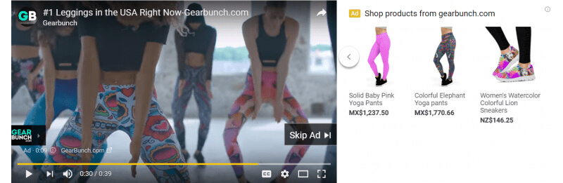 Youtube yoga clothes recomendation