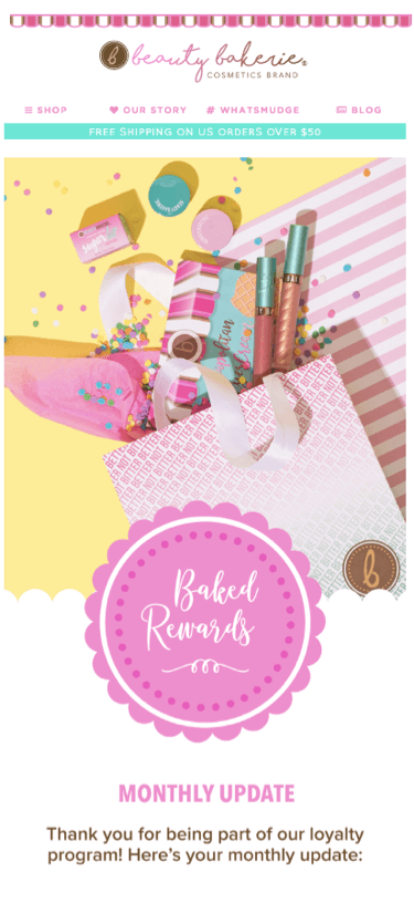 Beauty Bakerie monthly update