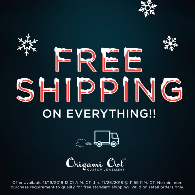 Free shipping on everything origami owl visual