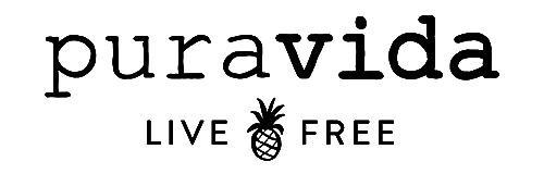 Pura Vida pineapple logo