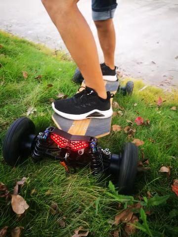 Phaser fpv electric skateboard