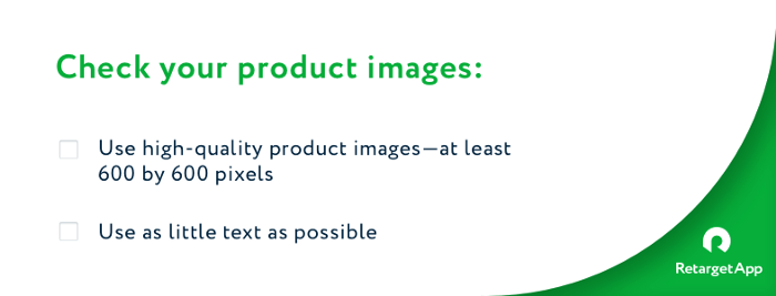 Quality product images