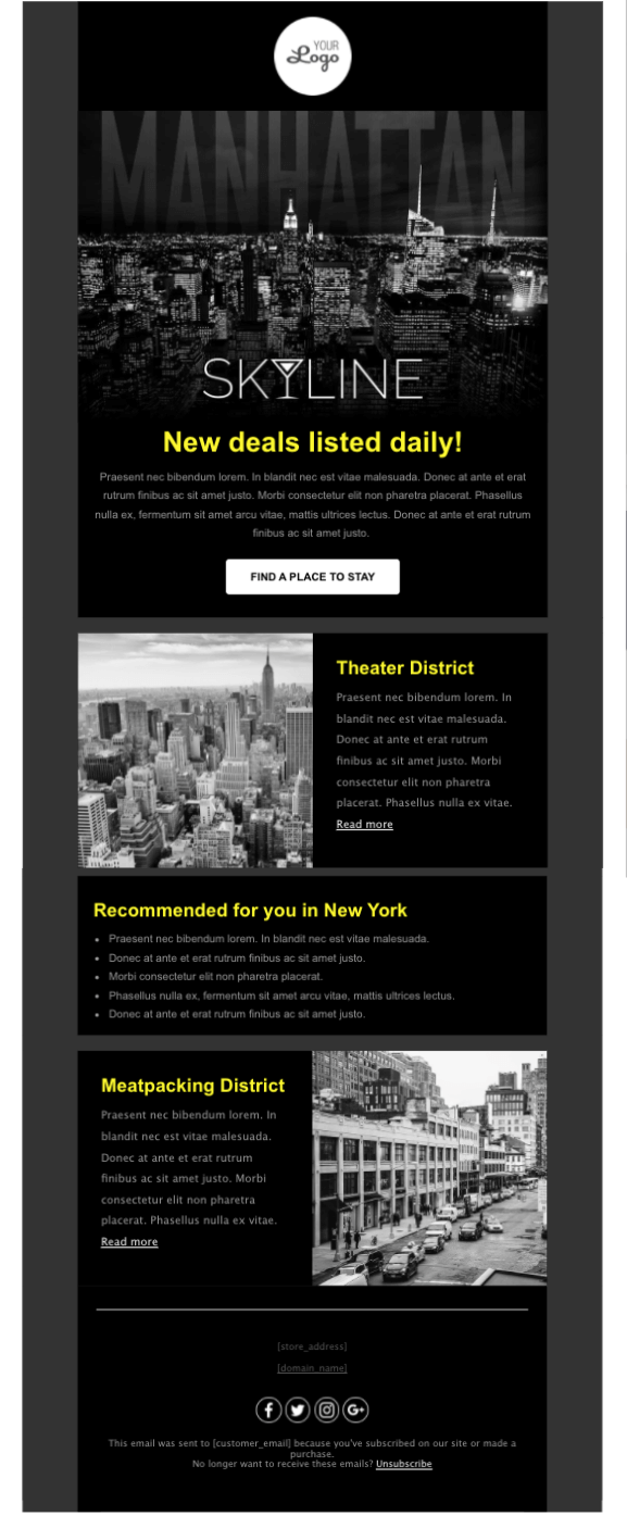 email template example 12
