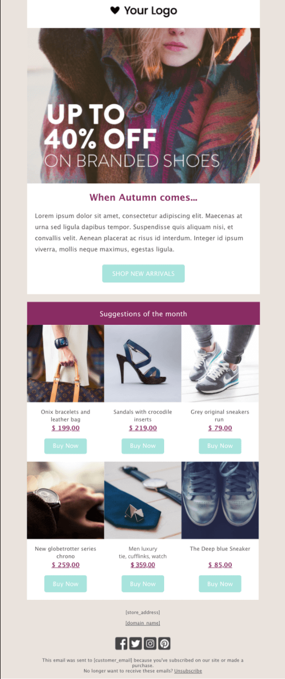 email template example 7