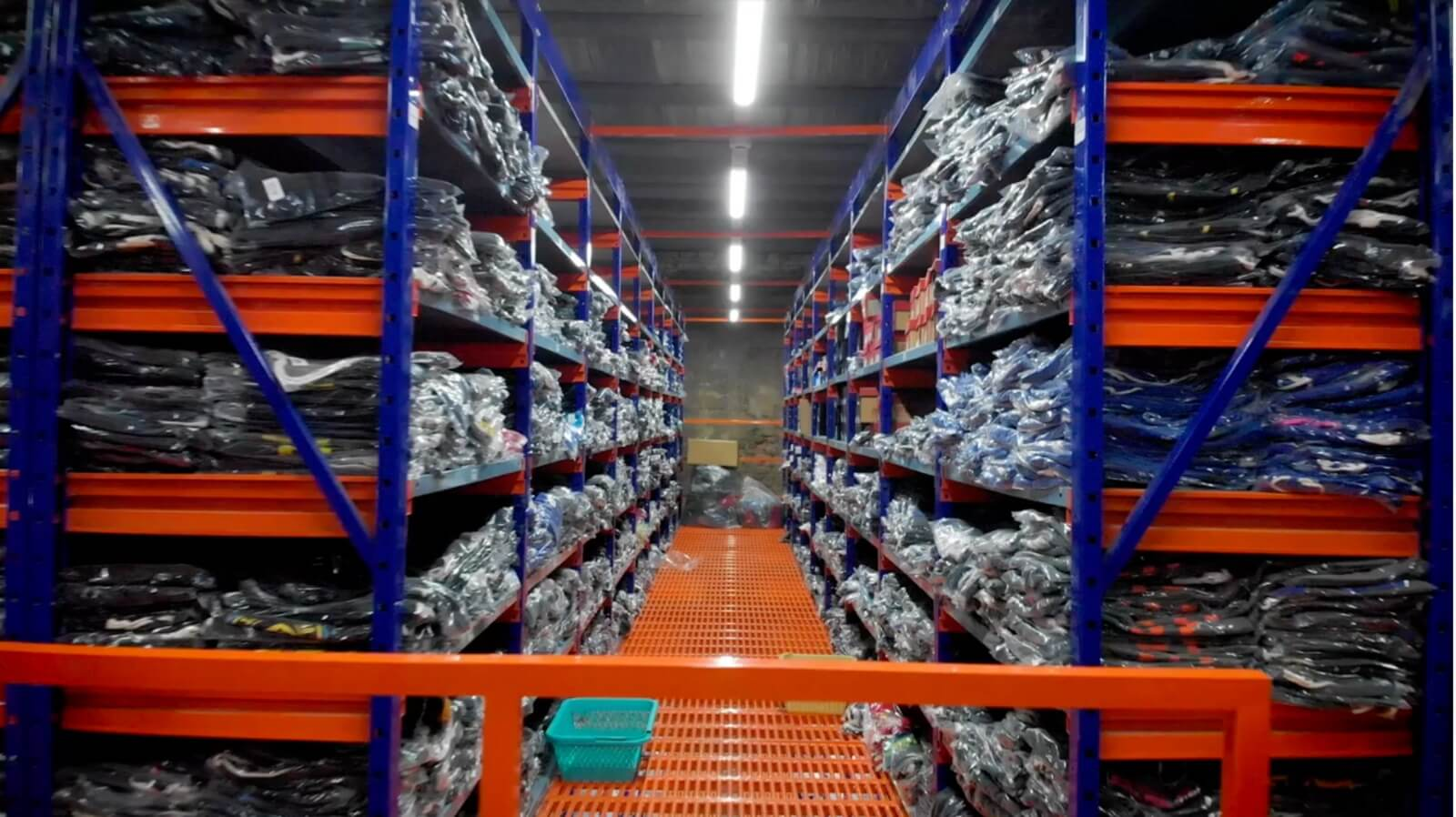 Export leftovers warehouse